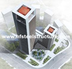 Porcellana Costruzione prefabbricata prefabbricata industriale della struttura d'acciaio, costruzione d'acciaio multipiana fornitore