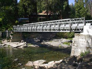 Porcellana Capacità portatile dell'onere gravoso del ponte Bailey, forte rigidità della struttura fornitore