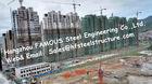 Multi progetto dell'appartamento delle costruzioni di struttura d'acciaio del piano di architettura modulare prefabbricata